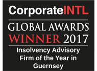 Insolvency Advisory Firm of the Year in Guernsey