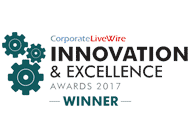 Corporate Live Wire Innovation & Excellence Awards 2017 Winner
