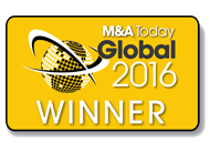 M&A Today Global 2016 Winner