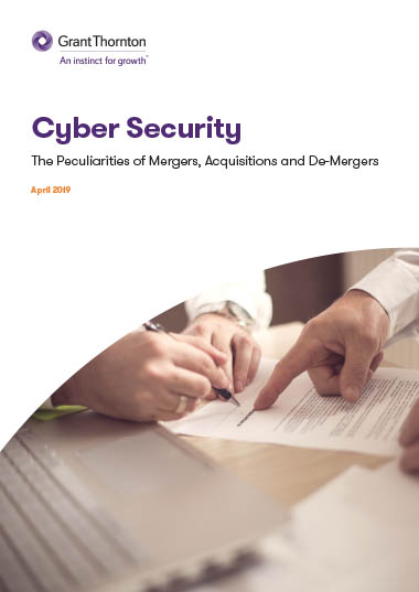 mergers - cyber security