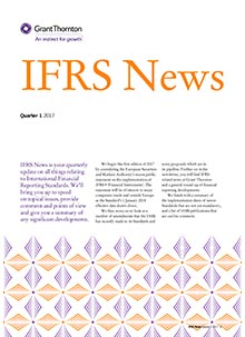 IFRS News Q1
