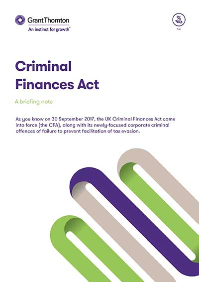 Criminal Finances Act
